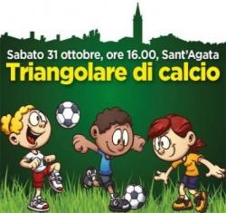 Triangolare di calcio a Sant'Agata Bolognese